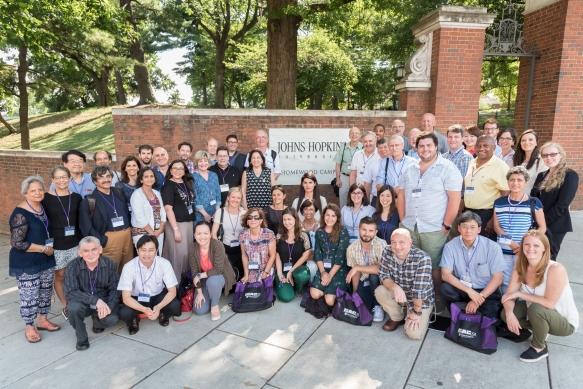 ISAC XX - Attendees, July 23, 2017 - Johns Hopkins University, Baltimore Maryland USA